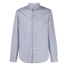 Kenzo Slim Fit 'Tiger Monograme' Shirt White