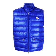 "Moncler ""Gui"" Down Vest Bright Blue"
