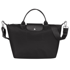 Longchamp Medium Le Pliage Néo Tote Bag Black