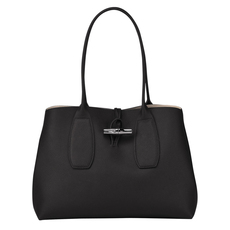 Longchamp Roseau Tote Bag Black