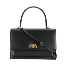 Balenciaga Sharp L Shoulder Bag Black