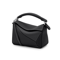 Loewe Mini Puzzle Crossbody Bag Black