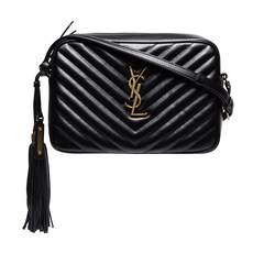 Yves Saint Laurent Lou Camera Bag Black/Gold