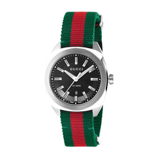 Gucci GG2570 41mm Casual Watch in Red,Green/Silver