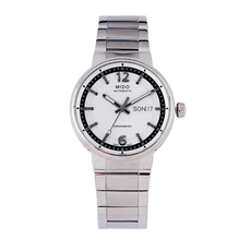 Mido Chronometer Mechanical Automatic Watch in Silver