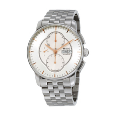 Mido Chronograph Mechanical Automatic Watch in Silver