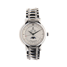 Ernest Borel Chronometer Mechanical Automatic Watch in Silver