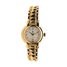Ernest Borel Date Mechanical Automatic Watch in Yellow Gold