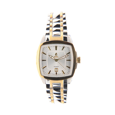 Ernest Borel Date Mechanical Automatic Watch in Gold/Silver