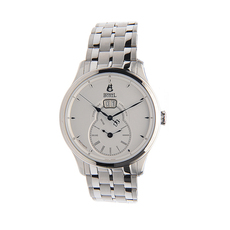 Ernest Borel Second timezone Mechanical Automatic Watch in Silver