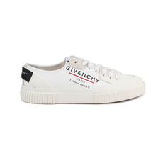 Givenchy Pairs-Logo Tennis Light Women's Sneakers White