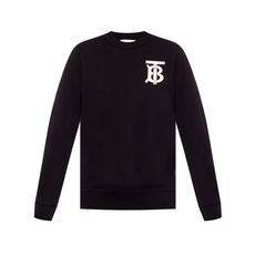 Burberry Monogram Motif Sweatshirt Black