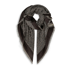 Gucci Diamond GG Scarf Brown