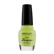 Absolute New York Nail Laquer Yellow Neon