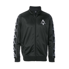 Marcelo Burlon Embroidered Sporty Jacket Black