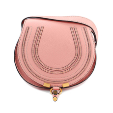 Chloè Mini Marcie Crossbody Bag Pink