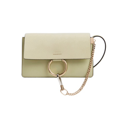 Chloè Faye Small Crossbody Bag Light Eucalyptus