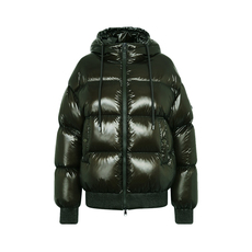 "Moncler ""Runio"" Down Jacket Dark Green"