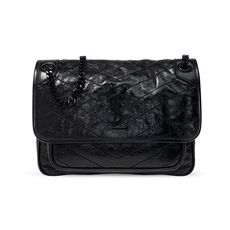 Yves Saint Laurent Niki Shoulder Bag Black
