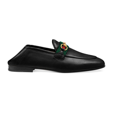 Gucci Web Women's Loafers Black