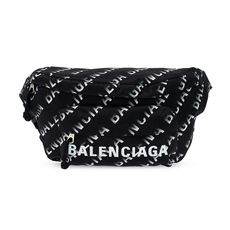 Balenciaga Wheel Waist Bag Black/White