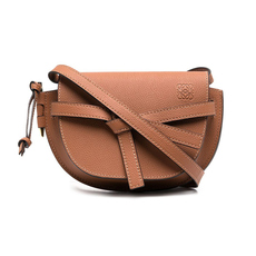 Loewe Mini Gate Dual Crossbody Bag Tan