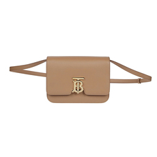 Burberry Tb Small Crossbody Bag Light Camel