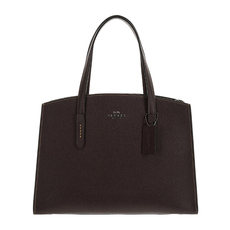 Coach Charlie Carryall Shoulder Bag Oxblood/Dark Gunmetal