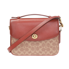 Coach Cassie Crossbody Bag Tan/Rust/Brass
