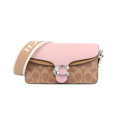 Coach Tabby Mini Crossbody Bag Brown/Pink