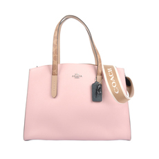 Coach Charlie Carryall Shoulder Bag Pink