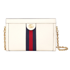 Gucci Ophidia Small Shoulder Bag White