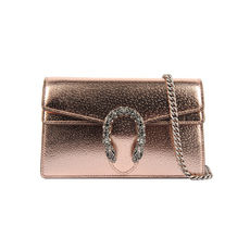 Gucci Dionysus Super Mini Crossbody Bag Rose Gold