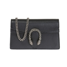 Gucci Dionysus Super Mini Chain Wallet Black