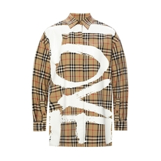 Burberry Love Print Shirt Archive Beige