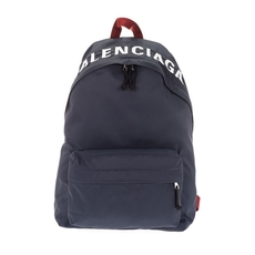 Balenciaga Wheel Backpack Navy