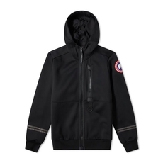 Canada Goose Hybridge Knit Down Jacket Black