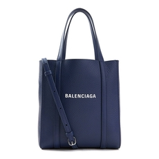Balenciaga Everyday Xxs Tote Bag Dark Blue