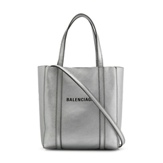 Balenciaga Everyday Xxs Tote Bag Silver