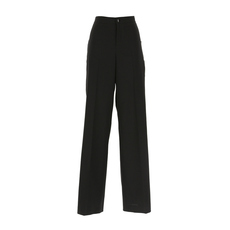 Red Valentino Side Stud Trousers Black