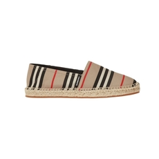 Burberry Icon Stripe Women's Loafers Archive Beige