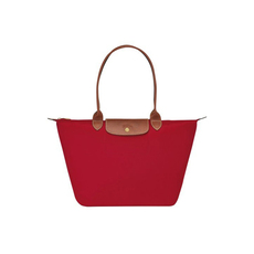 Longchamp Large Le Pliage Tote Bag Red