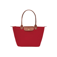 Longchamp Small Le Pliage Tote Bag Red
