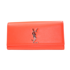Saint Laurent Clutch Bag Orange