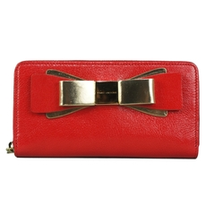 Marc Jacobs Zip Around Wallet Red