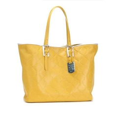Longchamp Lm Cycle Tote Bag Yellow