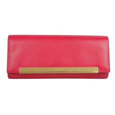 Saint Laurent Clutch Bag Fuchsia