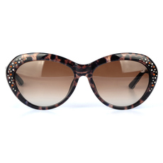 Daniel Swarovski Women's Sunglasses Brown/Beige