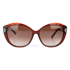 Daniel Swarovski Women's Sunglasses Brown