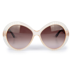 Daniel Swarovski Women's Sunglasses Beige/Brown